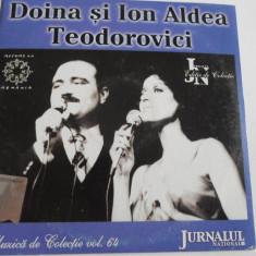 CD muzica - DOINA SI ION ALDEA TEODOROVICI - C13 - Muzica Folk