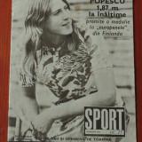 revista Sport nr 15 / august 1971 - 24 pagini !!!