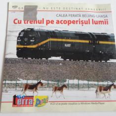 Film documentar Terra - Cu trenul pe acoperisul lumii - C13 - Film documentare, Alte tipuri suport, Romana