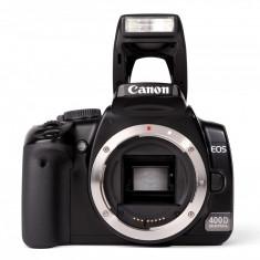 Vând URGENT Canon 400D + 4 obiective + multe accesorii - DSLR Canon, Kit (cu obiectiv), Sub 8 Mpx