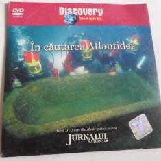 Film documentar Discovery - In cautarea Atlantidei - C13 - Film documentare, DVD, Romana
