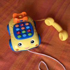 Jucarie telefon, 12-28 luni, Unisex, Multicolor