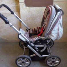 Carucior bebe din germania - Carucior copii 3 in 1, Altele, Pliabil, Maner reversibil