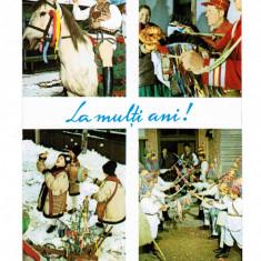 Carte Postala / vedere 1969 DEC, Traditi de Anul Nou, La multi ani!, Necirculata, Printata