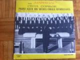 corul madrigal canta copiilor pagini alese din muzica corala cor disc vinyl lp