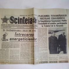 Ziar SCANTEIA - joi, 18 aprilie 1974 Nr. 9844