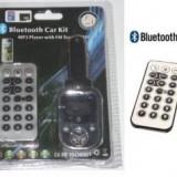 Bluetooth Car Kit MP3 Player Cu Transmitator FM, USB, Slot SD - HandsFree Car Kit