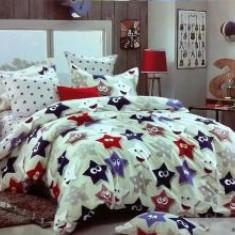Lenjerii De Pat Dublu Bumbac Usor Satinat 4 Piese Cutie Lux 13 - Lenjerie de pat, Bumbac Satinat