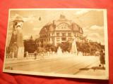 Ilustrata Timisoara - Podul Decebal , anii '50