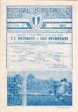 Program meci fotbal PETROLUL PLOIESTI - JIUL PETROSANI 01.11.1983