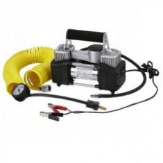 Compresor Auto 12V cu 2 Cilindri 23A 85L/min 140651