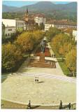% carte postala (marca fixa)-DEVA-Statuia Dr. Petru  Groza