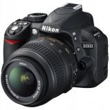 NIKON D3100 cu Obiectiv NIKON DX 18-55mm si Card de 8 Gb - Geanta CADOU