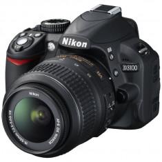 NIKON D3100 cu Obiectiv NIKON DX 18-55mm si Card de 8 Gb - Geanta CADOU - Aparat Foto Nikon D3100