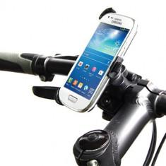 Suport bicicleta Samsung Galaxy S4 mini + folie protectie ecran cadou - Suport telefon bicicleta