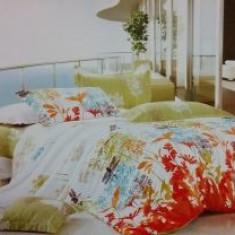 Lenjerii De Pat Dublu Bumbac Usor Satinat 4 Piese Cutie Lux 16 - Lenjerie de pat, Bumbac Satinat