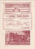 Program meci fotbal PETROLUL PLOIESTI - VICTORIA BUCURESTI 01.09.1985