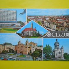 HOPCT 15133 CLUJ NAPOCA -JUD CLUJ [CIRCULATA] - Carte Postala Transilvania dupa 1918, Printata