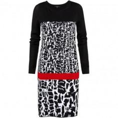 Noua! Rochie de toamna/iarna chic, marca COMMA S.Oliver, femei masura D36 - Rochie tricotate s.Oliver, Culoare: Negru, Marime: S/M, Fara maneca