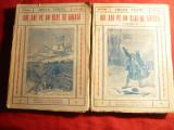 Jules Verne - Doi Ani pe un Bloc de Ghiata -vol 1 si 2 ,trad. J.Popescu Harsova