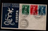 1958 exil europa FDC