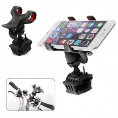 Suport bicicleta UNIVERSAL IPHONE compatibilcu: Iphone 4 / 5 / 6 /6 plus - Suport telefon bicicleta
