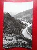 Aug15 - Vedere/ Carte postala - Valea Oltului la Cozia, Circulata, Printata