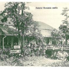 859 - Satu Mare, HALMEU, hotel - old postcard - unused - Carte Postala Maramures 1904-1918, Necirculata, Printata