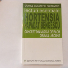 H. P. Bengescu - Concert din muzica de Bach/Drumul ascuns,RF8/2