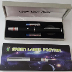 Laser verde/Green Laser Pointer 100mW