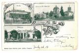 2091 - L i t h o, Prahova, CAMPINA - old postcard - used - 1906, Circulata, Printata