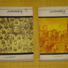 Junimea - Amintiri, studii, scrisori, documente - 2 vol. - Editura Albatros 1971 - Roman