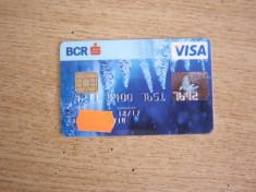 CARD BANCAR - PIESA DE COLECTIE foto