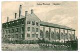 848 - Prahova, CAMPINA, Electric factory - old postcard - used - 1907, Circulata, Printata