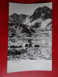 Aug15 - Vedere/ Carte postala - Muntii Retezat - Taul Pietrele, Circulata, Printata