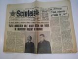 Ziar SCANTEIA - miercuri, 30 ianuarie 1974  Nr. 9766