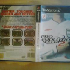 PES Pro Evolution Soccer 2 - JOC PS2 Playstation ( GameLand ) - Jocuri PS2, Sporturi, 3+, Multiplayer