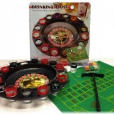 Joc Ruleta 16 Pahare Cu 100 Chipuri Valorice Cutie Metalica - Jocuri Board games