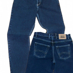 Blugi barbati indigo clasici simpli drepti MOTTO jeans W 30, 31 (006-008)