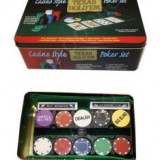 Casino Style Texas Holdem Poker Set - Joc board game