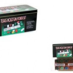 Texas Holdem Profesional Poker Set 36x24cm - Jocuri Board games