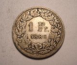 Elvetia 1 Franc 1886