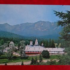 aug15 - Vedere/ Carte postala -  Maneciu - Manastirea Cozia