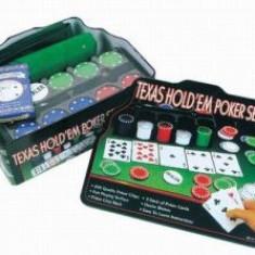 Texas Holdem Profesional Poker Set pk50820 - Jocuri Board games