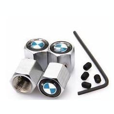 Set capacele ventil metal model pentru BMW cu antifurt seria 1 3 5