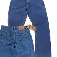 Blugi barbati drepti albastru simplu MOTTO jeans W 30 (Art011,012)