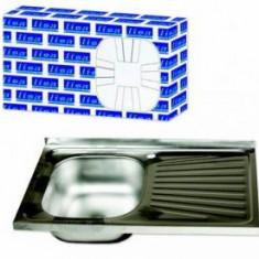 Chiuveta Inox Pentru Masca Zilan LISA ZLN1916 - Chiuveta bucatarie