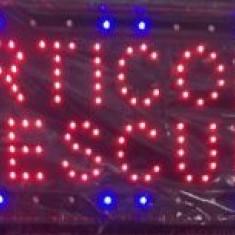 Reclama Luminoasa Cu LED 55x33cm Articole Pescuit