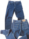 Blugi drepti barbati albastri simpli MOTTO jeans W 30 (Art. 035), Albastru