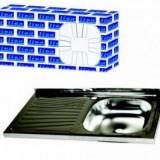 Chiuveta Inox Pentru Masca Zilan ZLN1862 - Chiuveta bucatarie